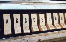 Англійський алфавіт з вимовою та транскрипцією