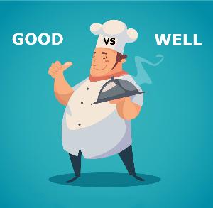 В чем разница между good и well?