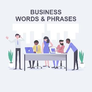 Бизнес-лексика и слова в английском языке