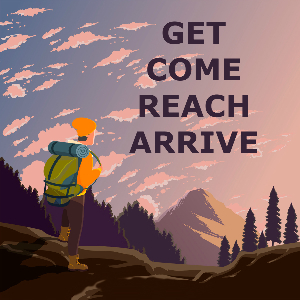 В чем разница между arrive, get, reach и come?