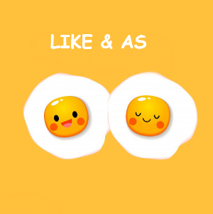 В чем разница между As и Like?