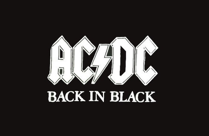 ac dc back in black перевод