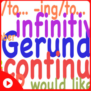 Разница между герундием и инфинитивом (видео)