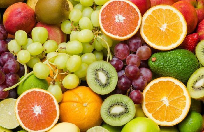 Фрукты, ягоды, овощи, орехи и крупы на английском, изображение 1